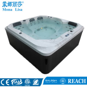 5-6 Person Portable Acrylic Whirlpool Massage SPA Tub (M-3377) pictures & photos