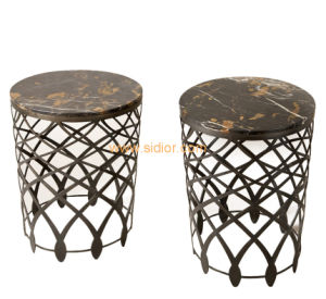 (CL-5506) Luxury Hotel Restaurant Villa Lobby Furniture Marble Side Table pictures & photos