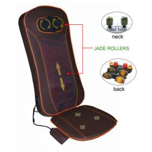 Electric Infrared Heat Body Care Shiatsu Jade Stone Massage Cushion pictures & photos