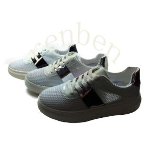 New Arriving Popular Women′s Sneaker Shoes pictures & photos