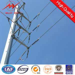 30FT Galvanized Electric Power Steel Pole pictures & photos