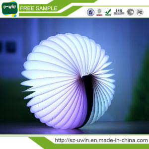 Factory Wholesale Colorful Remote Control Book Light Book Shape Lamp for Decorate pictures & photos