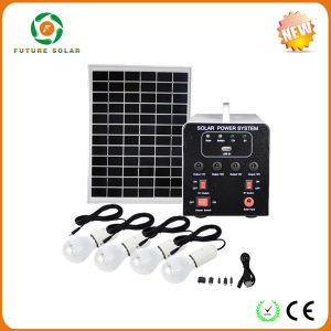 18V25W Solar Energy System with Lantern 4PCS LED Lights
