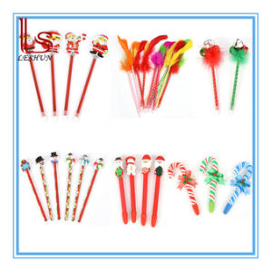 Christmas Gift Stationery Lovely Children Baby Gift Pencil Christmas Ballpoint Pen Prizes pictures & photos