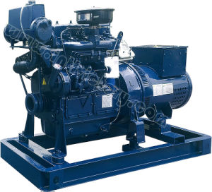 20kVA~125kVA Weichai Huafeng Marine Diesel Generator with CCS Certification pictures & photos