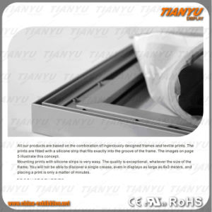 Aluminum Textile Frame for Wall Mounting or Standing pictures & photos