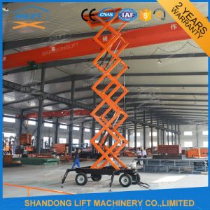 Hydralic Electric Scissor-Type Stationary Scissor Lift Platform pictures & photos