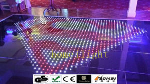 P10 Acrylic Waterproof RGB Dancing Panels LED Video Dance Floor for Wedding Party Stage Display pictures & photos