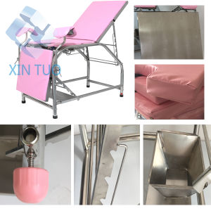 Surgical Chair Table Hospital Table Operation Portable Gynecology pictures & photos