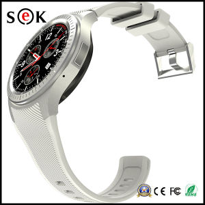 """1.39"""" Amoled Display Quad Core Bluetooth 4.0 Android Smart Watch Cell Phone pictures & photos"""