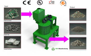 PCB PP PC ABS Plastic Hammer Crusher/ Granulator/ Shredder