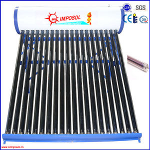 Stainless Steel Non-Pressurized Solar Water Heater with CE pictures & photos