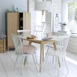 Rch-4162 Hot Sale Elegant White Windsor Chair pictures & photos