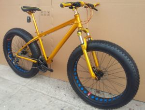 """26"""" Inches Fat Bike/Snow Bike /Snow Bicycle Okm-240"""