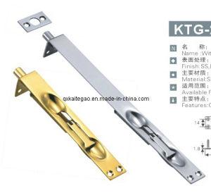 (KTG-211) Satin Finish Stainless Steel Spring Flush Bolt for Door pictures & photos