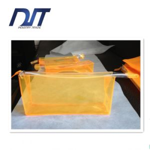 Cosmetics Bag PVC Zipper Bag Gift Custom PVC Transparent Packaging pictures & photos