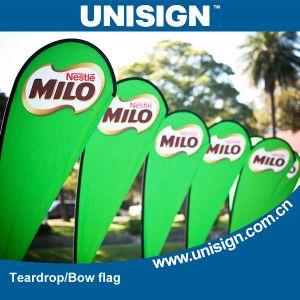 Unisign Durable and Stable Teardrop Flags (UBF-A, UBF-B, UBF-C, UBF-E, UBF-F, UBF-G) pictures & photos