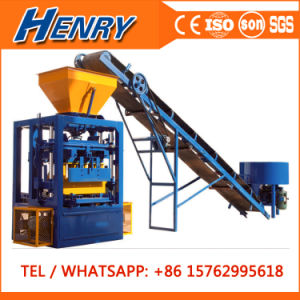 Qt4-24 Most Popular Simple Vibrated Concrete Cement Brick Block Making Machine Price Guinea pictures & photos