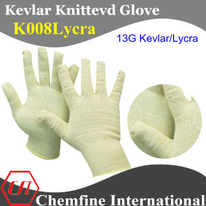 13G Kevlar/Lycra Knitted Glove pictures & photos
