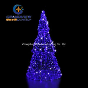 Blue 3D Pine LED Christmas Tree pictures & photos