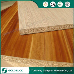 Low Price Wood Grain Melamine Faced Chipbaord pictures & photos