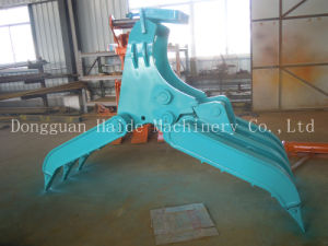 Excavator Wood Grab for 20ton Machine (ZM-200) pictures & photos