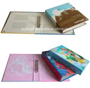 Custom Design Printing Paper Ring Binder PVC Card Holder Inside pictures & photos