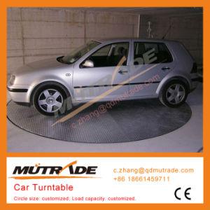 Car Auto Show High End Quality Smart PLC Car Turntable Rotating Car Revolving Platform pictures & photos