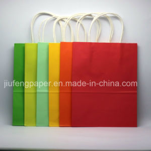 Best Quality 120g Kraft Paper Tote Bag Tote Handbag pictures & photos