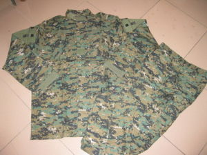 Military Camouflage Uniform