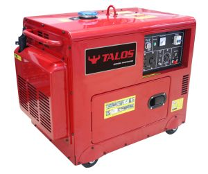4 kVA Portable Silent Diesel Generator Set (DG5500ES) pictures & photos