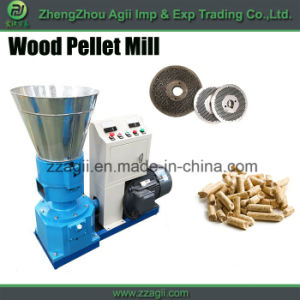 Kaf Biomass Pelletizer Mill Small Wood Sawdust Pellet Mill Machine pictures & photos