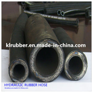 Steel Wire Braided High Pressure Hydraulic Rubber Hose pictures & photos