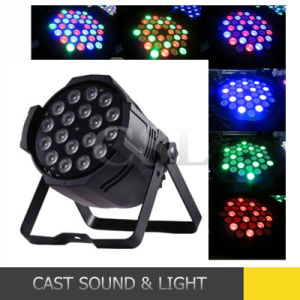 18pcsx15W Rgbwauv 6in1 PAR LED Wash Light pictures & photos
