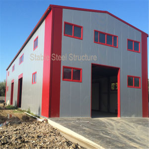 Design Prefabricated Steel Structure Welding Workshop with Low Cost pictures & photos