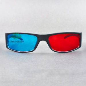 Plastic Cyan Red 3D Glasses (SN3D 025P)