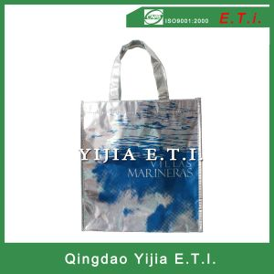 Matallic Lamiated Non Woven Tote Bag pictures & photos