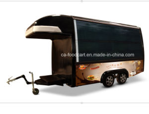 Solar Electric Food Trailer, Kitchen Trailer pictures & photos