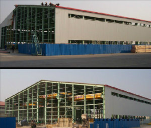 Steel Structure Pre-Engineered Workshop Building/Prefabricated Workshop (DG-SSW166) pictures & photos