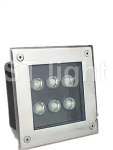 IP68 6W Brightness Outdoor Waterproof RGB LED Inground Light