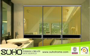 Popular Office Furniture Partition Glass Door Glass Wall Aluminum Frame