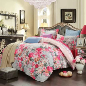 Stock of Microfibe Fabric with Many Designs for Bedding Sheet pictures & photos