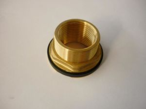 Brass Tank Connector Pipe Fitting (10004)