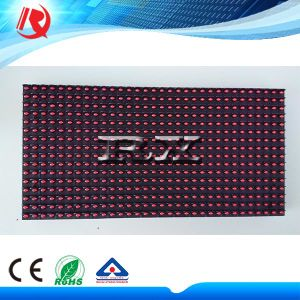 Single Red Text Display Electronic Board Component P10 Semi-Outdoor LED Module pictures & photos