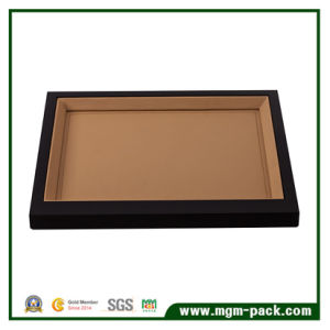 High Quality PU Leather/Wooden Black Jewelry Display Tray pictures & photos