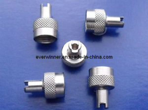 Metal Schrader Valve Dust Caps with Core Tool Key, Valve Remove Tool Key (CT-Cap) pictures & photos