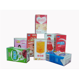 Laminated Paper Box Packaging for Juice and Milk pictures & photos
