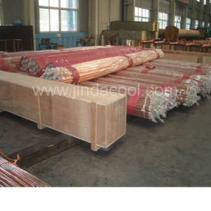 5.8m Hard Temper Straight Copper Tube in Refrigeration pictures & photos