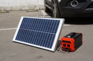 High Power Solar Power Generator Power Supply with LED Light pictures & photos
