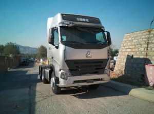 Europe Style Sinotruk HOWO A7 420HP 100 Ton Tractor Head pictures & photos